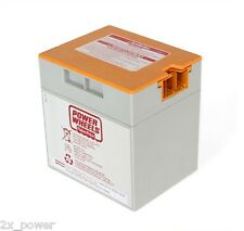 Power Wheels Battery Orange Top Gray 12 volt 00801-1776 Mattel Fisher Price 12v