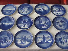 """ 1968 - 1986 ""  ROYAL COPENHAGEN CHRISTMAS PLATE LOW PRICES"