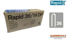 RAPID 36/14 DP CABLE TACKER STAPLES - BOX 2,000