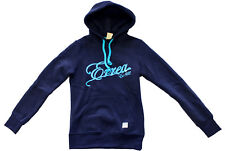 ERREA Miyako blue junior sweatshirt hooded felpa ragazza blu con cappuccio