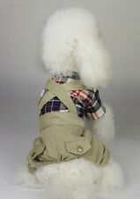 Pet Clothes Cute Dog Doggie Tee Shirts Pants Overalls for Small Dogs Pets Cats