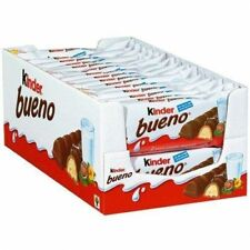 KINDER BUENO 2 BAR (43g) Buy in 30, 24, 18, 12, or 6 PACKETS By Ferrero Rocher