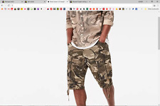(SALE OUTLET) 100% GENUINE   Rovic Loose 1/2-Length Shorts