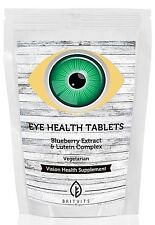 Eyehealth Vitamin & Mineral Blueberry & Lutein UK Made ✔Letterbox