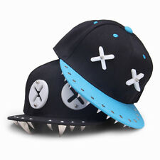 XX Cartoon Rivet Flat Hip-Hop Hat Baseball Cap