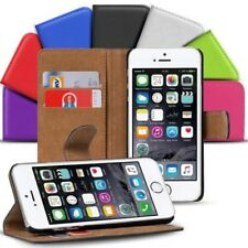 Funda libro para Apple iPhone Bolsa, Protectora Plegable Cover Wallet Estuche