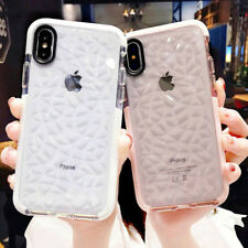Luxury Clear Bling 3D Diamond Glitter Soft Phone Case Cover For iPhone X 8 7 6