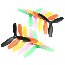10 Pairs Racerstar R5040X3 5040 3 Blade Propeller 5.0mm Mounting Hole For 2204