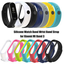 Waterproof Silicone Wrist Band Strap Replacement For Xiaomi Mi Band 3 Bracelet