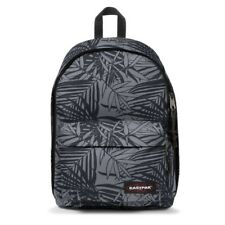 Eastpak Out Of Office Zaino 27L EK767 45T Leaves Black Hawaiana Grigio/Nero