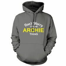 Don't Worry it's AN Archie Thing Unisex Sudadera Con Capucha/Sudadera Capucha -