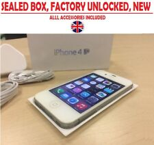 Brand New Apple iPhone 4S 16GB Factory Unlocked Smartphone Sealed Box UK