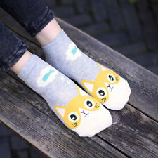 Invisible Sock Low Cut Ankle Socks Cotton Sock Boat Sock Cartoon Animal Design