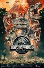 t rex  jurassic world fallen kingdom 2018 movie jurassic park Poster A3-A4-309
