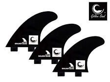 Quillas de surf Golden Sand. Surf fins Golden Sand fin quilla (set 3) Fcs style