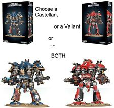 Warhammer 40K Imperial Knights KNIGHT VALIANT and/or KNIGHT CASTELLAN or both