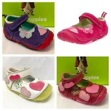 Hush Puppies Girls Meow Toddler First Walking Infant Grip Non Slip Sole Shoes