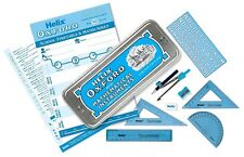 HELIX OXFORD MATHS SET AND TIN CASE - IDEAL FOR SCHOOL & UNI LIMITED EDITION