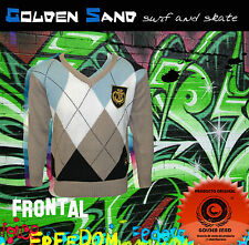 Jersey surf skate Golden Sand para niños. Sweater for children. Lamas