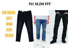 Levis 511 Jeans For Men Black Blue Slim Fit pants
