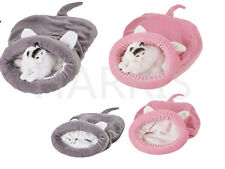 Sleeping Bag Puppy Soft Warm Cave House Mat Pad Cozy Puppy Pet Cat Dog Nest Bed