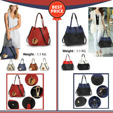 Designer Women Hobo Bag With Tassel Ladies Faux Leather Handbag Shoulder Bag New