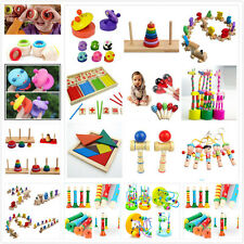 Baby Educational  Children Intellectual Developmental Wooden Toy Funny GiftP`B