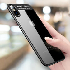 Full Protective Ultra Slim Clear Soft Gel Phone Case Cover For iPhone X 8 7 6
