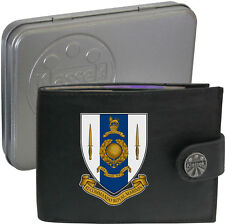 Royal Marines 42 Commando  on Mens Wallet Real Leather RFID Chain Keyring