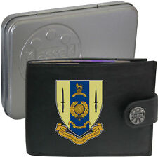 Royal Marines 30 Commando  on Mens Wallet Real Leather RFID Chain Keyring