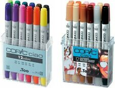 Copic Ciao Marker 12 Piece Basic | Copic 12 Piece Skin Tone Sets Available