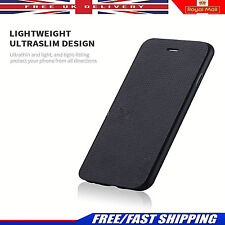 ORIGINAL Fino Funda flip de cuero artificial Cartera para Apple iPhone x 8 7 7
