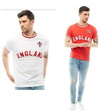 BRAVE SOUL ENGLAND WORLD CUP T SHIRT MEN FIFA RUSSIA 2018 FOOTBALL IT'S COMING