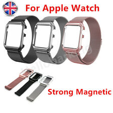 For Apple Watch Milanese Magnetic Loop Stainless Steel Strap iWatch Band 42/38mm
