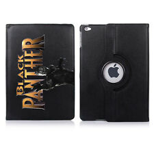 Black Panther Personalised 360 Rotating Case Cover for ALL Apple iPad tablets