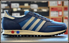 Adidas LA TRAINER MENS SHOES TRAINERS SNEAKERS RUNNING SHOES LEATHER BLUE