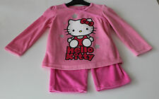 velours vêtements de nuit Lot pyjamas fille Hello Kitty Rose 98 104 116 128 #7