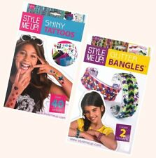 Style Me Up Shiny Tattoos Glitter Bangles Sparkling Creative Kit Toy 8+ Years