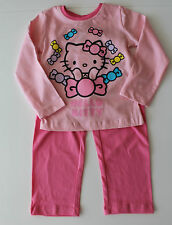 vêtements de nuit Lot pyjamas fille Hello Kitty Rose Taille 92 104 116 128 #26