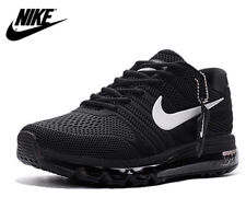 Nike Air Max 2017 Mens Running Shoes Black White Sneakers trainers 7,5 8,5 and 9
