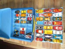 Vintage Lot of 60's 70's 80's Matchbox Lesney Superfast Car Lot of 43 W/ Case