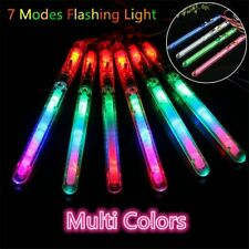 5-50PCS Flashing Glow Sticks LED Blinking Wands Rally Rave Concert Party Charity