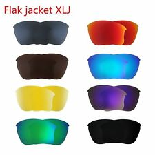 Oakley Flak Jacket&Flak Jacket XLJ Polarized Replacement Lenses Sunglasses