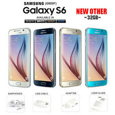 NEW Samsung Galaxy S6 G920F 32GB Black Sapphire Gold Platinum White Unlocked