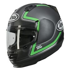 Casco moto Arai Rebel Trophy Green Motorcycle