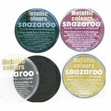 Snazaroo Metallic Colours, Clown White, Glitter Gels and Glitter Dust Pots