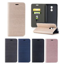 Flip Magnetic Leather Wallet Book PU Soft Back Phone Case Cover For Redmi Note