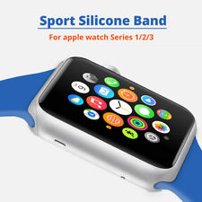 Silicone Sport Band for Apple Watch 42mm 38mm