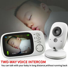 Home Baby Monitor Night Vision Video Audio Camera 2Way Talk 3.2 Digital Wireless