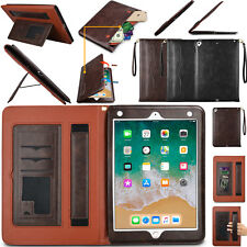 For iPad Air Pro (9.7Inch) Smart Leather Wallet Flip Magnetic Strap Case Cover